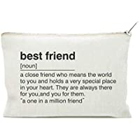 Best Friend Gift, Toiletry Bag, for Best Friend, Friend Definition, Cosmetic Bag, Makeup Case, Bestie Gift, Sister Gift