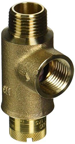 ZURN WILKINS 12-P1500XL 2471324 P1500 Calibrated Pressure Relief Valve, 25 To 175 Psi, 1/2'' Mnpt x 1/2'' Fnpt, Lead Free by Zurn Wilkins (Image #1)