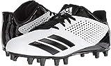 adidas Men's Freak X Carbon Mid Football Shoe, White Black, 10.5 M US