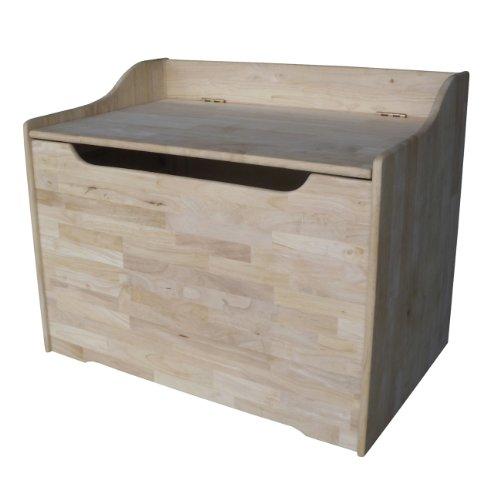 International Concepts Unfinished Storage Box, 29-Inch
