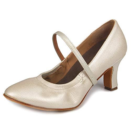 Modle 5003 Souliers Hroyl Blanc Jazz Dance Pour 7cm Femmes Danse Cuir Ballroom Samba De Latin Chaussures Salsa 1920's R6UZrA6Wq