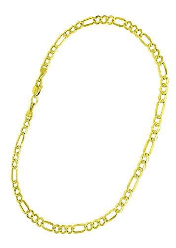 14k-Gold-Figaro-Bracelet
