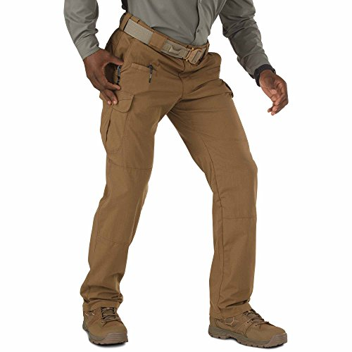 - 5.11 Men's STRYKE Tactical Cargo Pant with Flex-Tac, Style 74369, Battle Brown, 32W x 30L