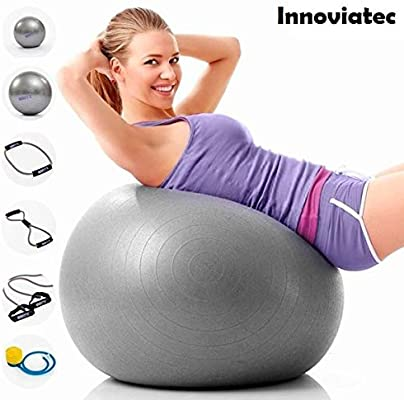 Innoviatec - Juego de Pelotas elásticas para Yoga, Pilates ...
