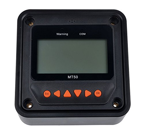 MT-50 Remote Meter LCD Display for Viewstar Solar Panel Charge Controller (Dig Cable Audio)