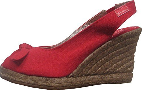 Espadrilles sandal of Maria Victoria Red - RED aVoJpy6mg6