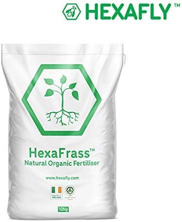 Hexafly Fertilizante orgánico Insecto Frass Ecológico 12KG