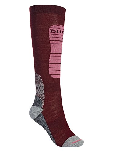 Burton Women's Merino Phase Socks, Sangria, Small/Medium
