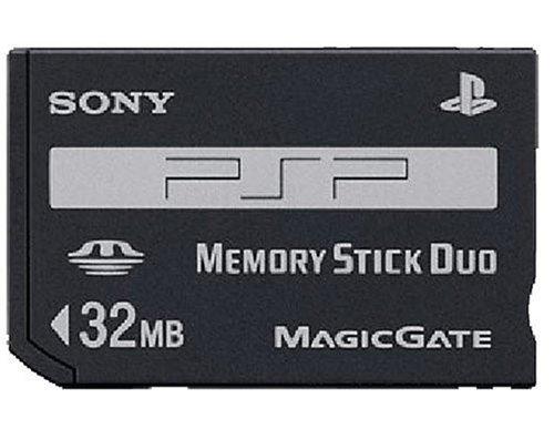 (Original PSP Memory Stick Duo 32MB)