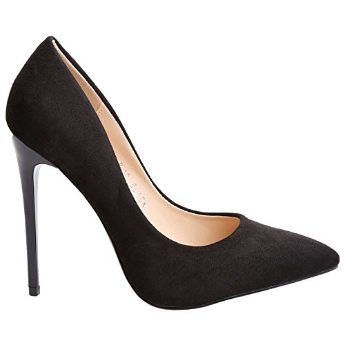 Feet First Fashion Danita Womens High Stiletto Heel Pointed Toe Court Shoes:  Amazon.co.uk: Shoes & Bags