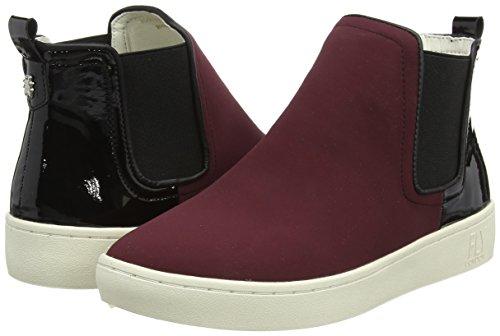 Damen Mabs832fly Sneaker, Rot (Bordeaux/Black), 38 EU FLY London