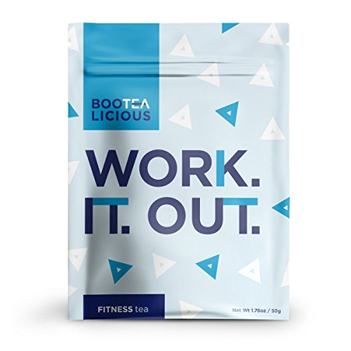 Pace Brands - Bootealicious Work.It.Out. Fitness Tea | 100% Natural Weight Loss Tea | Fight Bloating, Release Toxins, Cleanse Digestive System, Help Slim You Down | Without Laxatives | Loose Leaf 50g
