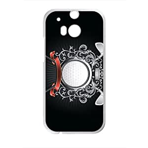 Golfball Pattern Hot Seller High Quality Case Cove For HTC M8