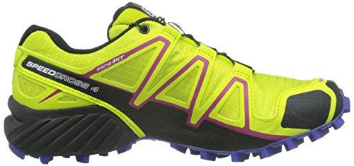 Salomon L39185900, Chaussures de Trail Femme Vert