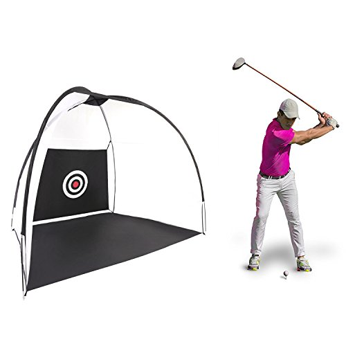 Golf Hitting Net, Ferty Golf Practice Training Net, Golf Nets for Backyard Driving/ Indoor Use with Chipping Target