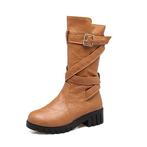 Light Closure No A Outdoor AN Bootie Track Heeled amp;N Boots Urethane Toe Lining DKU01787 Warm Womens Boots Closed Weight Yellow Nubuck p0YOdwYq