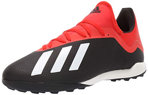 185ad2ce175 adidas Men's X 18.3 Turf, Black/Off White/Active red 9 M US