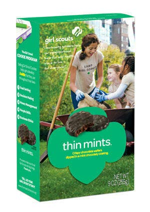 Girl Scout Cookies, Chocolate Thin Mints, Half Case - 6 ()