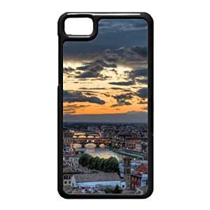 Black Berry Z10 Case,City Sunset Glow High Definition Wonderful Design Cover With Hign Quality Hard Plastic Protection Case