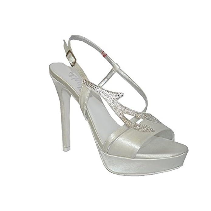 Sposa E Thulle Melluso Sandalo Da Borse Scarpe Th420 Sandali Donna In