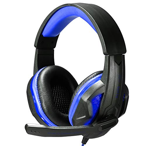 Aoile Wired Gaming Headset Deep Bass Game Earphone Computer