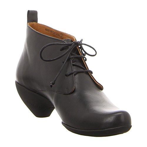 Tracey black de Piel Fern cordones reflective Neuls Black Zapatos mujer de Tbike para PP64qwr