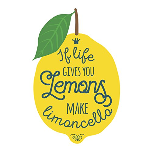 If Life Gives You Lemons Make Limoncello Lemon Icon Vinyl Decal Sticker (4