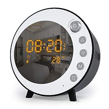 Jims Store Radio Despertador con Altavoz Bluetooth Micrófono ...