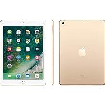 Apple iPad 9.7 with WiFi, 128GB- Gold (2017 Model) - (Certified Refurbished)
