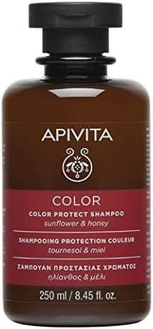 Apivita - Champú protector de color girasol & miel: Amazon.es ...