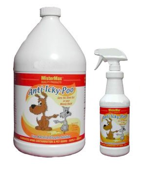 Anti Icky Poo Odor Remover Gallon and (1) Quart Set