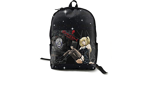 Shanke Unisex Classic Fashion Death Note Casual Backpack Travel Backpack Laptop Backpack