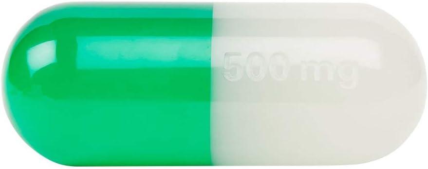 Klein Jonathan Adler Dekorationsobjekt Pille Acryl Weiß Gelb