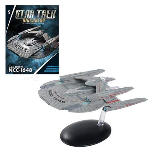Star Trek Discovery The Official Starships Collection: #05 U.S.S. Europa NCC-1648 Ship Replica (Romulan Ship)