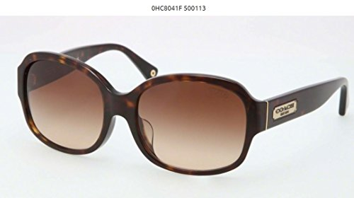 Coach Sunglasses HC 8041F TORTOISE