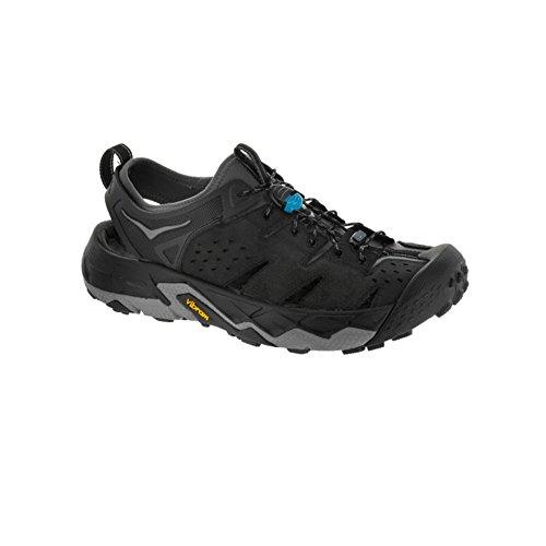 Price comparison product image Hoka One One Men's Tor Trafa Hiking Sandal, Anthracite / Black, US Size 10.5 M