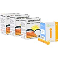 Genultimate Blood Glucose Test Strips for Use with One Touch Ultra, Ultra 2 and Ultra Mini Meter, 150 Strips with 100 Lancets by Care Touch
