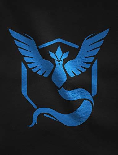 Donna Team Go Da Pkm Mystic Blu Fit Maglietta Gaming Grigio Slim 0TwqdU