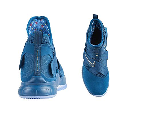 reputable site ce361 8ecd3 NIKE Lebron Soldier XII SFG Mens Ao4054-400 Size 10
