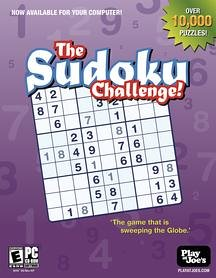 Play at Joe's Sudoku Challenge - PC
