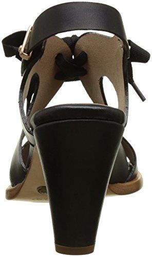 Neosens Restored S991 Sandalias Ebony Montua Negro Skin Mujer Punta con para Ebony Abierta r16qw5rxd