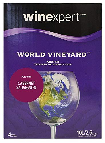 Winexpert Australian Cabernet Sauvignon With Grape Skins Cabernet Sauvignon Raspberry Wine