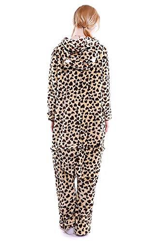 Kigurumi Pigiama Cosplay Anime Leopard Halloween Abyed® Orso Attrezzatura Costume dBPwd