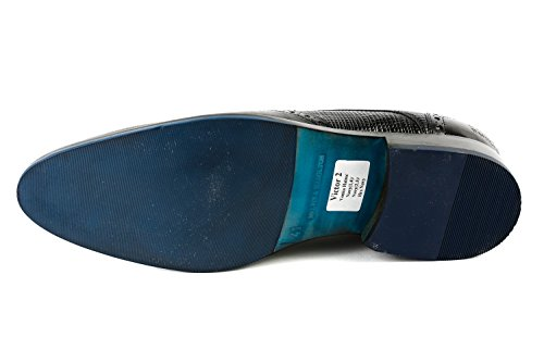 Melvin & Hamilton MH15-778, Scarpe Stringate Uomo Blu Blau