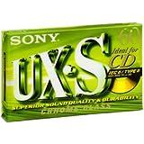 Sony Cassette audio compact Type 2 Supérieur (Position chrome) UXS 60 minutes C60UXS