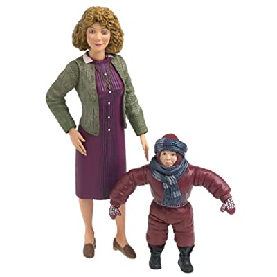 NECA A Christmas Story 7 Inch Scale Action Figure Mom & Randy: Toys & Games