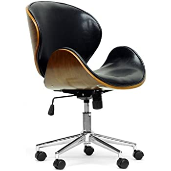 Amazon Com Baxton Studio Bruce Modern Office Chair