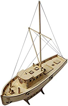 SODIAL Ship Assembly Model Diy Kits Wooden Sailing Boat 1:50 Scale Decoration Toy Gift