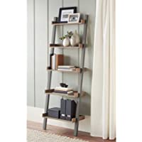 Better Homes and Gardens Bedford 5 Shelf Wide, Gray