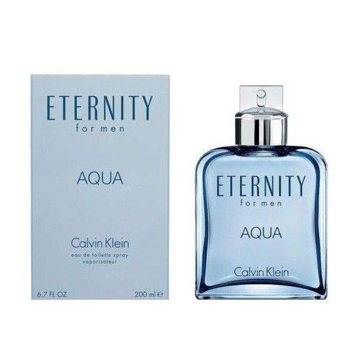 CK ETERNITY AQUA MEN Eau De Toilette Spray 6.7 OZ. - Escape 3.4 Ounce Edp